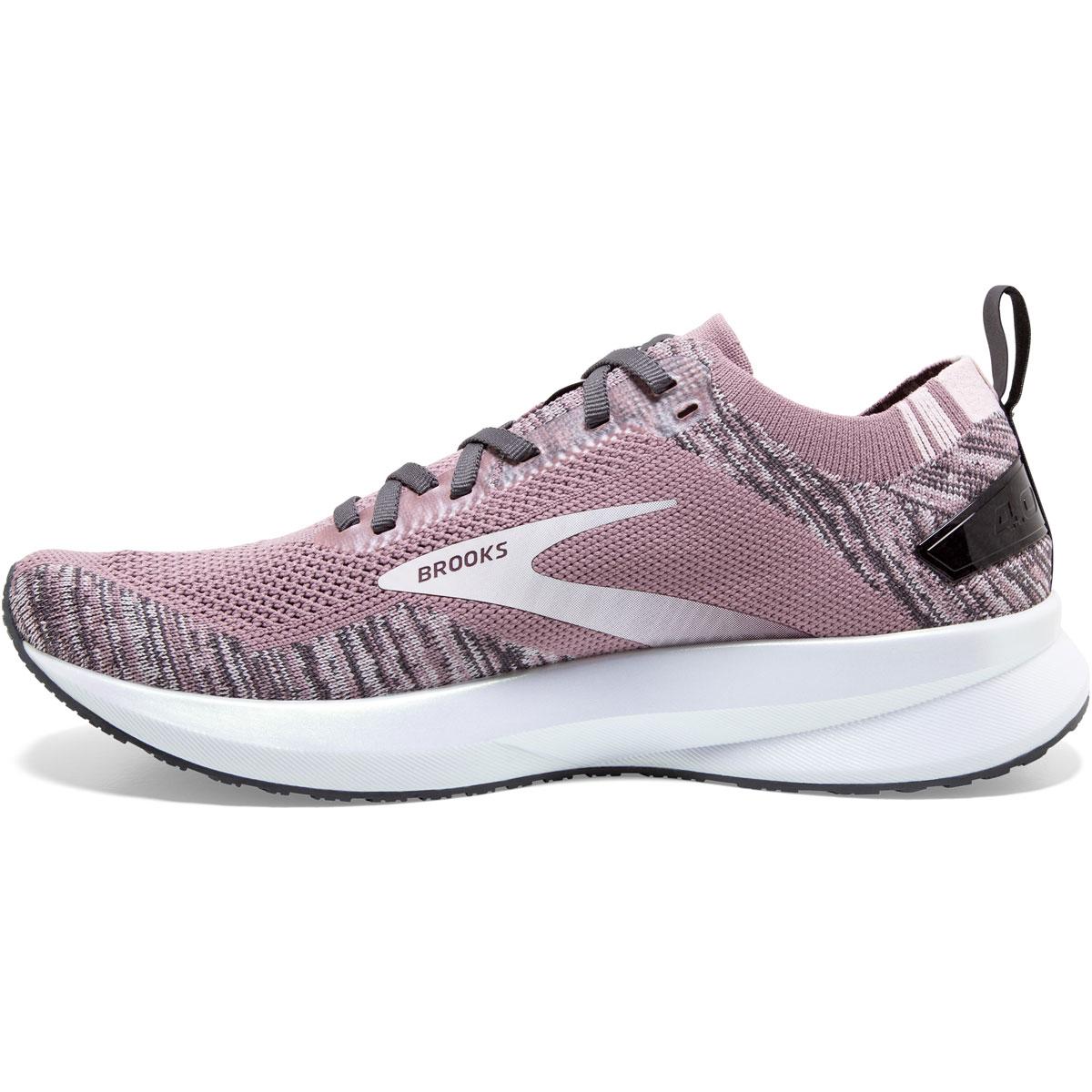 Women's Brooks Levitate 4 Running Shoe - Color: Blackened Pearl - Size: 5.5 - Width: Regular, Blackened Pearl, large, image 2