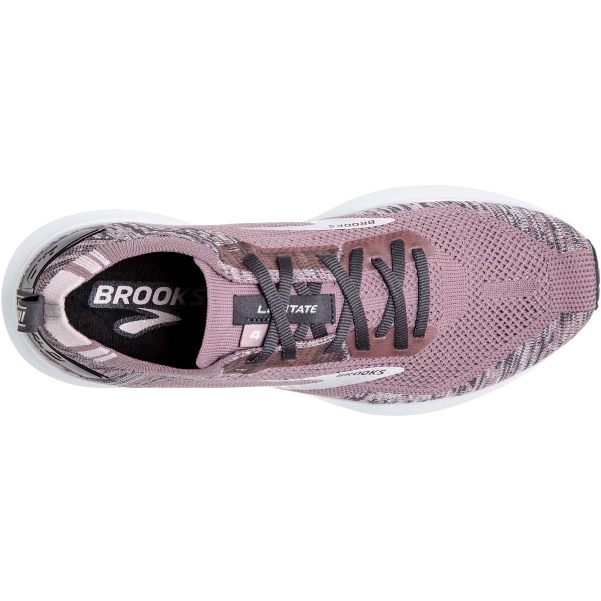 Women's Brooks Levitate 4 Running Shoe - Color: Blackened Pearl - Size: 5.5 - Width: Regular, Blackened Pearl, large, image 4