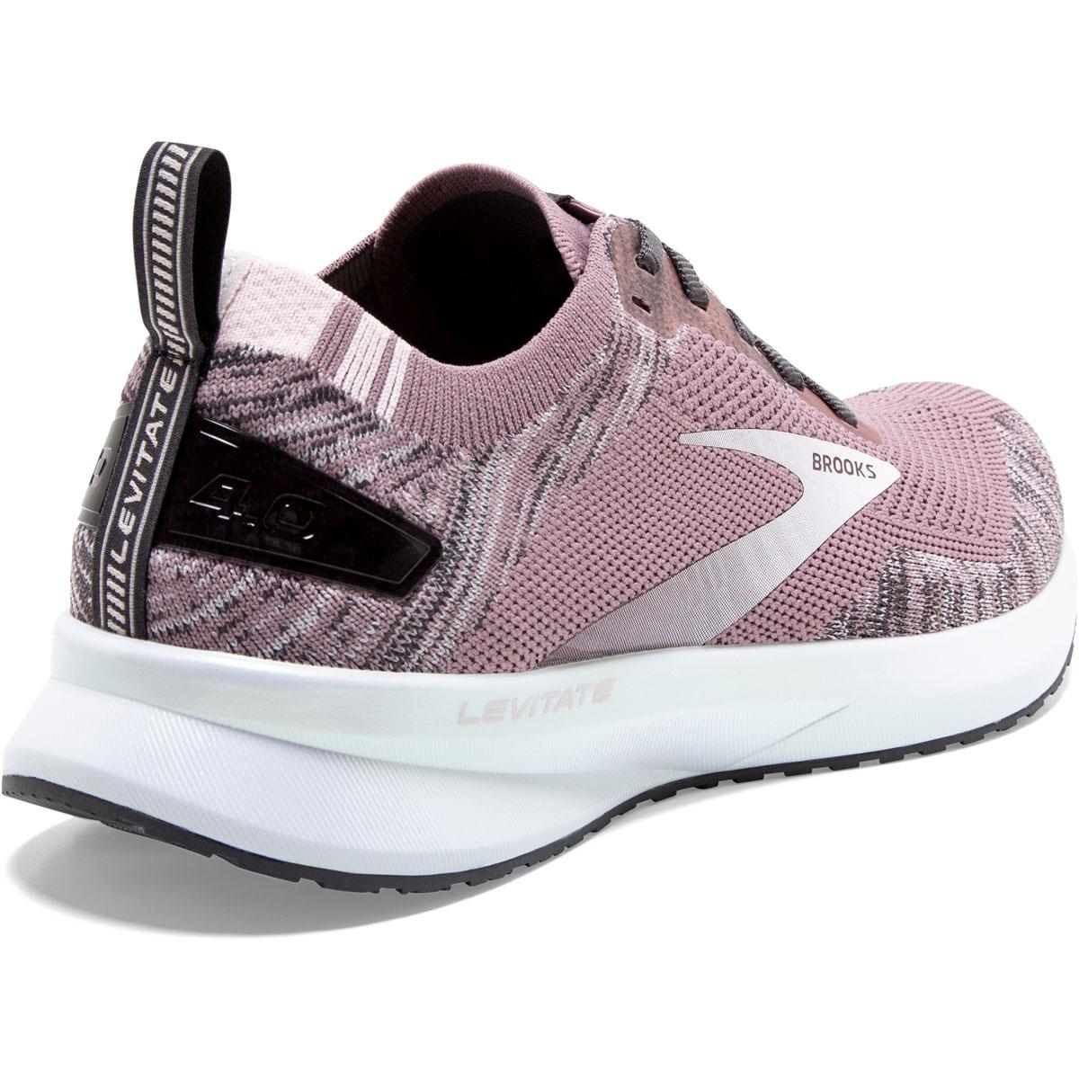Women's Brooks Levitate 4 Running Shoe - Color: Blackened Pearl - Size: 5.5 - Width: Regular, Blackened Pearl, large, image 5