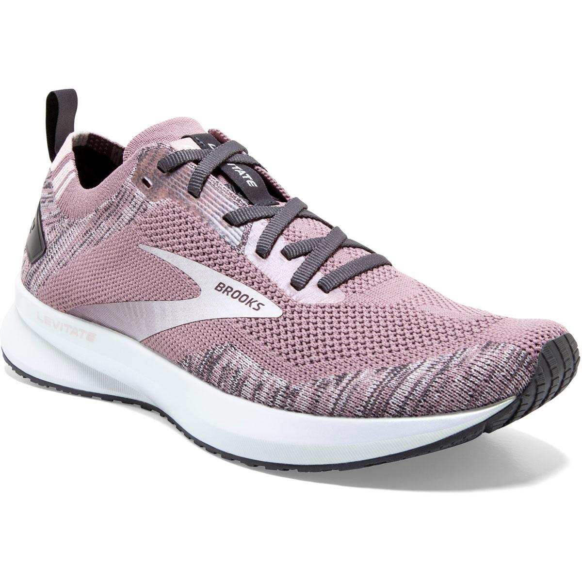 Women's Brooks Levitate 4 Running Shoe - Color: Blackened Pearl - Size: 5.5 - Width: Regular, Blackened Pearl, large, image 6