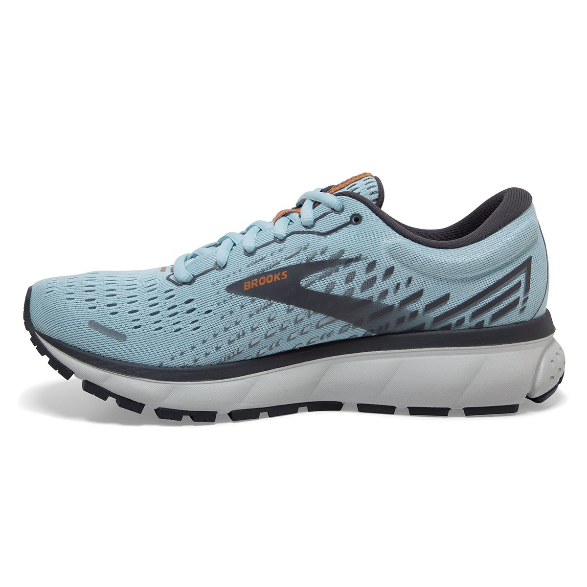 Women's Brooks Ghost 13 Running Shoe - Color: Light Blue/Black - Size: 5 - Width: Regular, Light Blue/Black, large, image 5