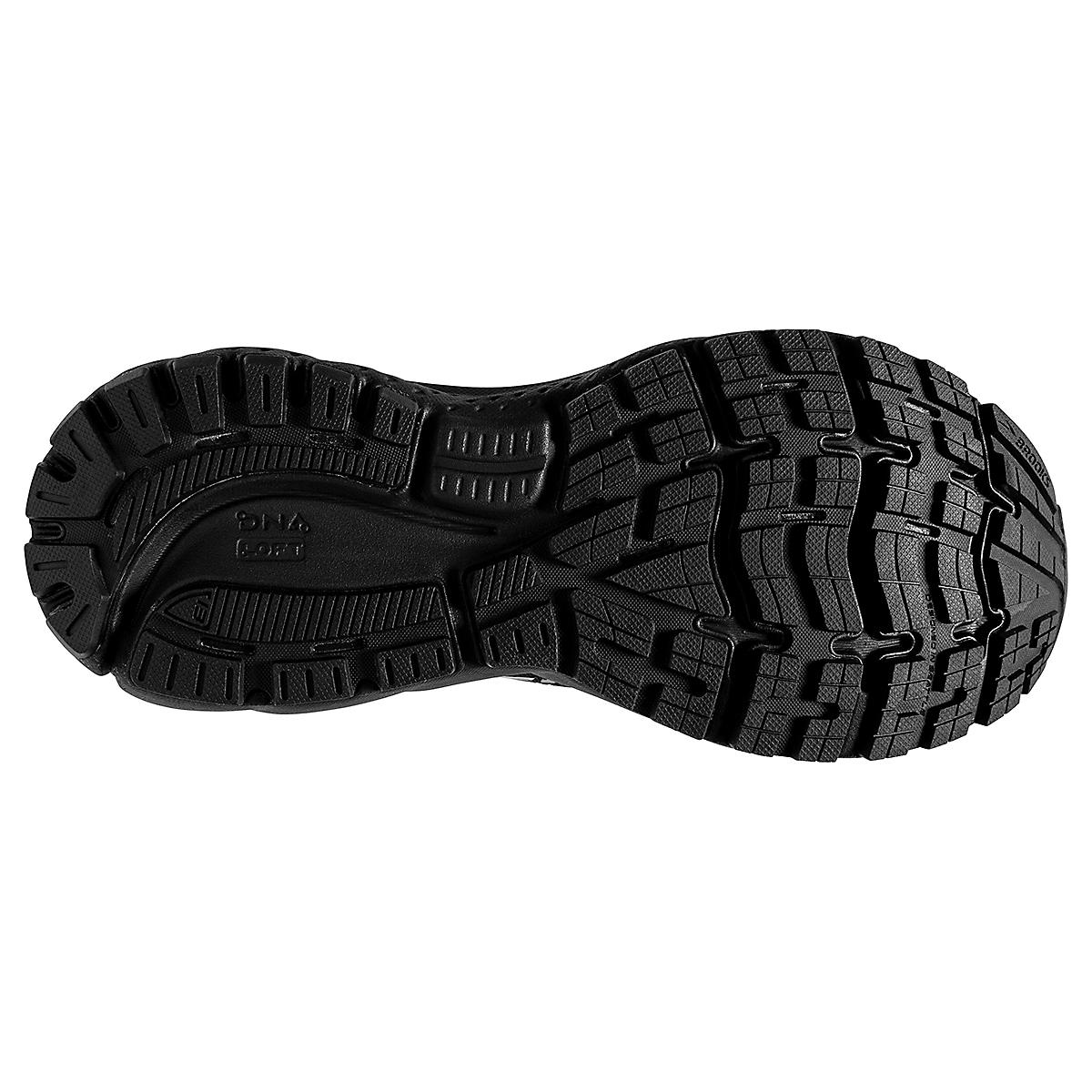 Women's Brooks Ghost 13 Running Shoe - Color: Black/Black - Size: 5 - Width: Regular, Black/Black, large, image 4