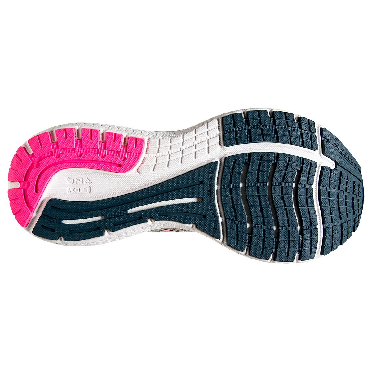 Women's Brooks Glycerin 19 Running Shoe - Color: Ice Flow/Navy - Size: 5 - Width: Regular, Ice Flow/Navy, large, image 3