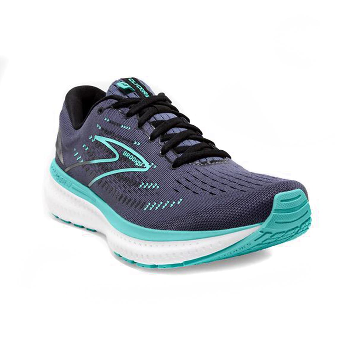 Women's Brooks Glycerin 19 Running Shoe - Color: Nightshadow/Bla - Size: 5 - Width: Regular, Nightshadow/Bla, large, image 3