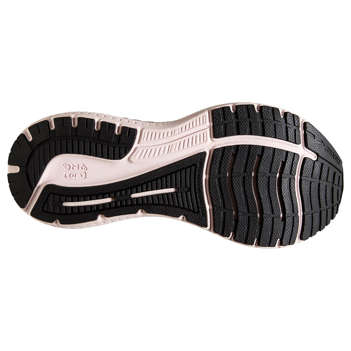Women's Brooks Glycerin GTS 19 Running Shoe - Color: Black/Ombre/Metallic - Size: 7.5 - Width: Regular, Black/Ombre/Metallic, large, image 3