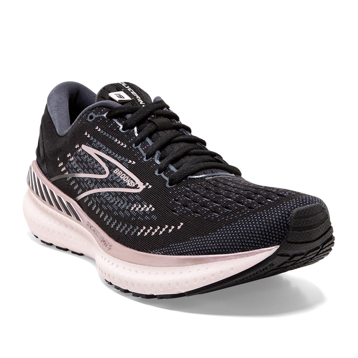 Women's Brooks Glycerin GTS 19 Running Shoe - Color: Black/Ombre/Metallic - Size: 7.5 - Width: Regular, Black/Ombre/Metallic, large, image 4