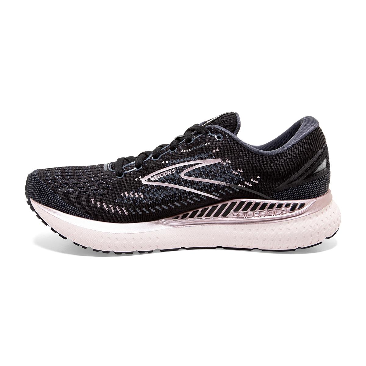 Women's Brooks Glycerin GTS 19 Running Shoe - Color: Black/Ombre/Metallic - Size: 7.5 - Width: Regular, Black/Ombre/Metallic, large, image 5