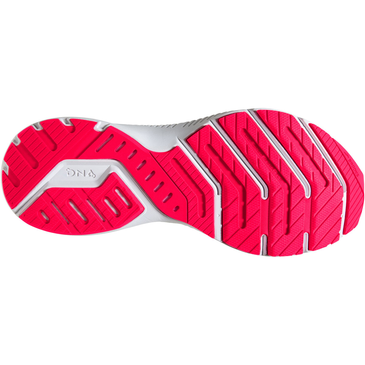 Women's Brooks Launch 8 Running Shoe - Color: Ice Flow/Navy/Pink - Size: 5 - Width: Regular, Ice Flow/Navy/Pink, large, image 3