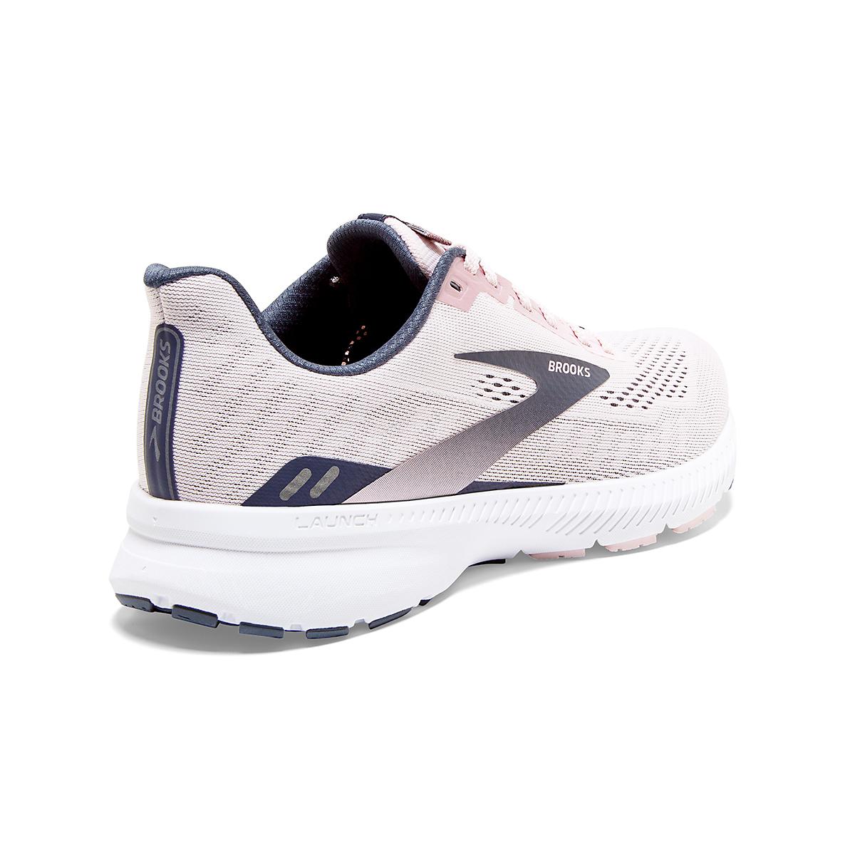 Women's Brooks Launch 8 Running Shoe - Color: Primrose/Ombre/Metallic - Size: 5 - Width: Regular, Primrose/Ombre/Metallic, large, image 3