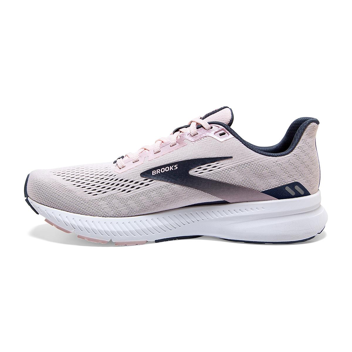 Women's Brooks Launch 8 Running Shoe - Color: Primrose/Ombre/Metallic - Size: 5 - Width: Regular, Primrose/Ombre/Metallic, large, image 4