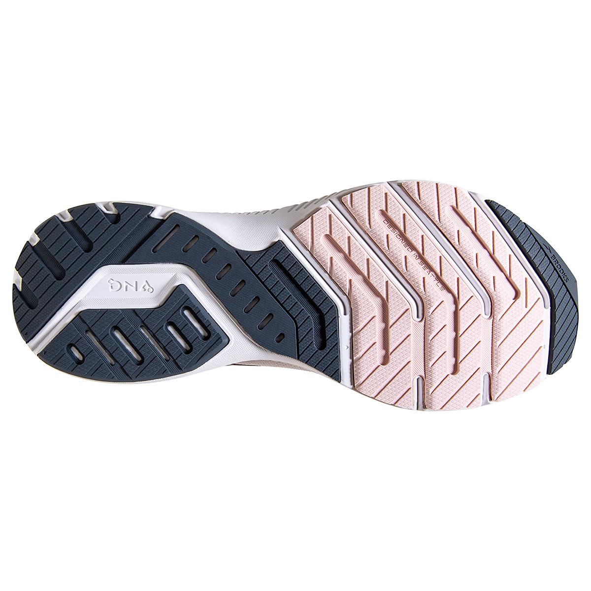 Women's Brooks Launch 8 Running Shoe - Color: Primrose/Ombre/Metallic - Size: 5 - Width: Regular, Primrose/Ombre/Metallic, large, image 6