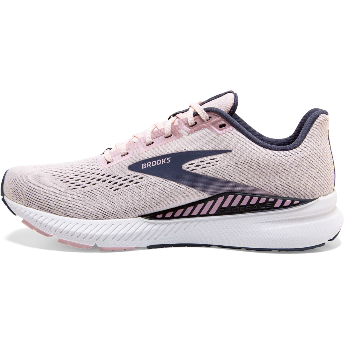 Women's Brooks Launch GTS 8 Running Shoe - Color: Primrose/Ombre - Size: 5 - Width: Regular, Primrose/Ombre, large, image 2