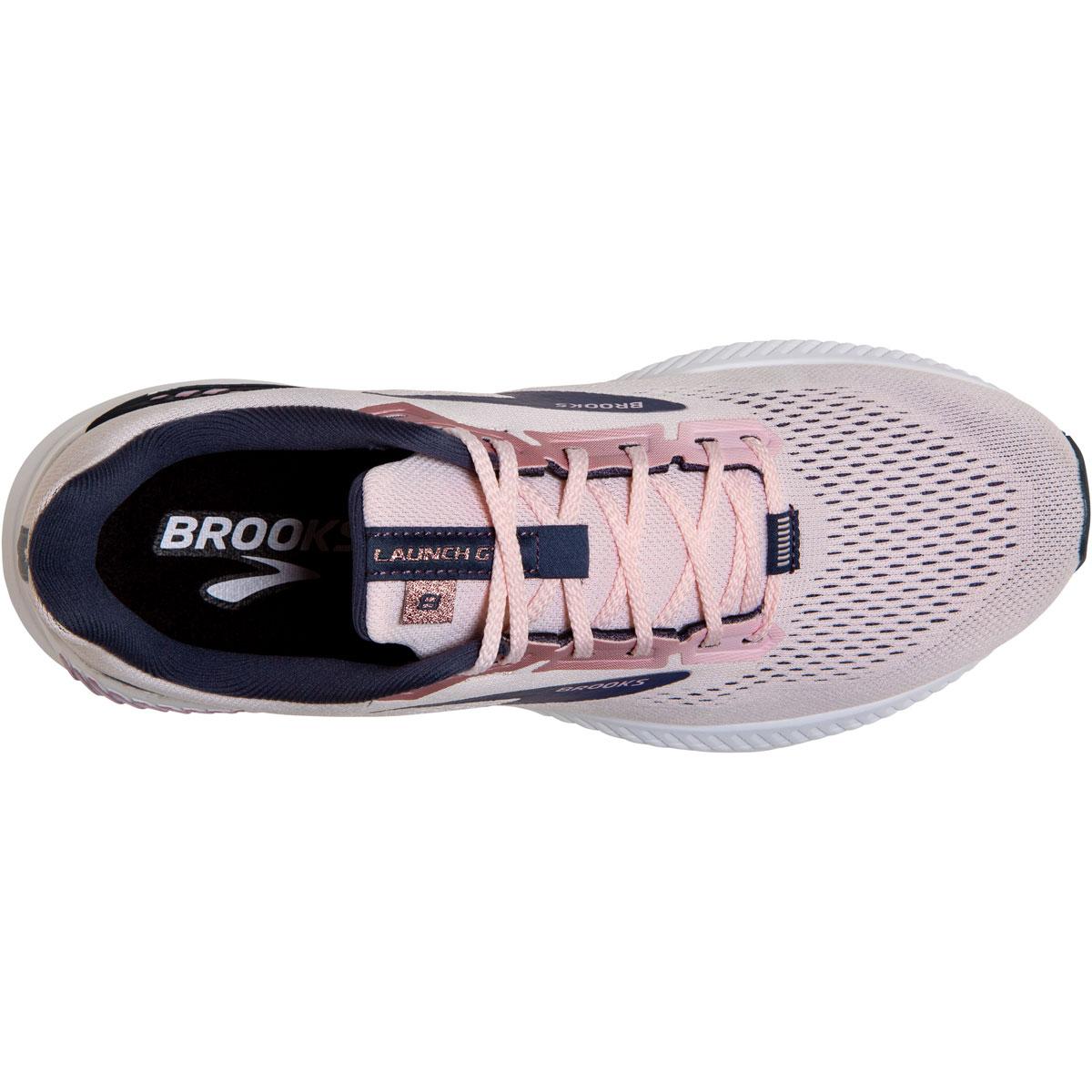Women's Brooks Launch GTS 8 Running Shoe - Color: Primrose/Ombre - Size: 5 - Width: Regular, Primrose/Ombre, large, image 4