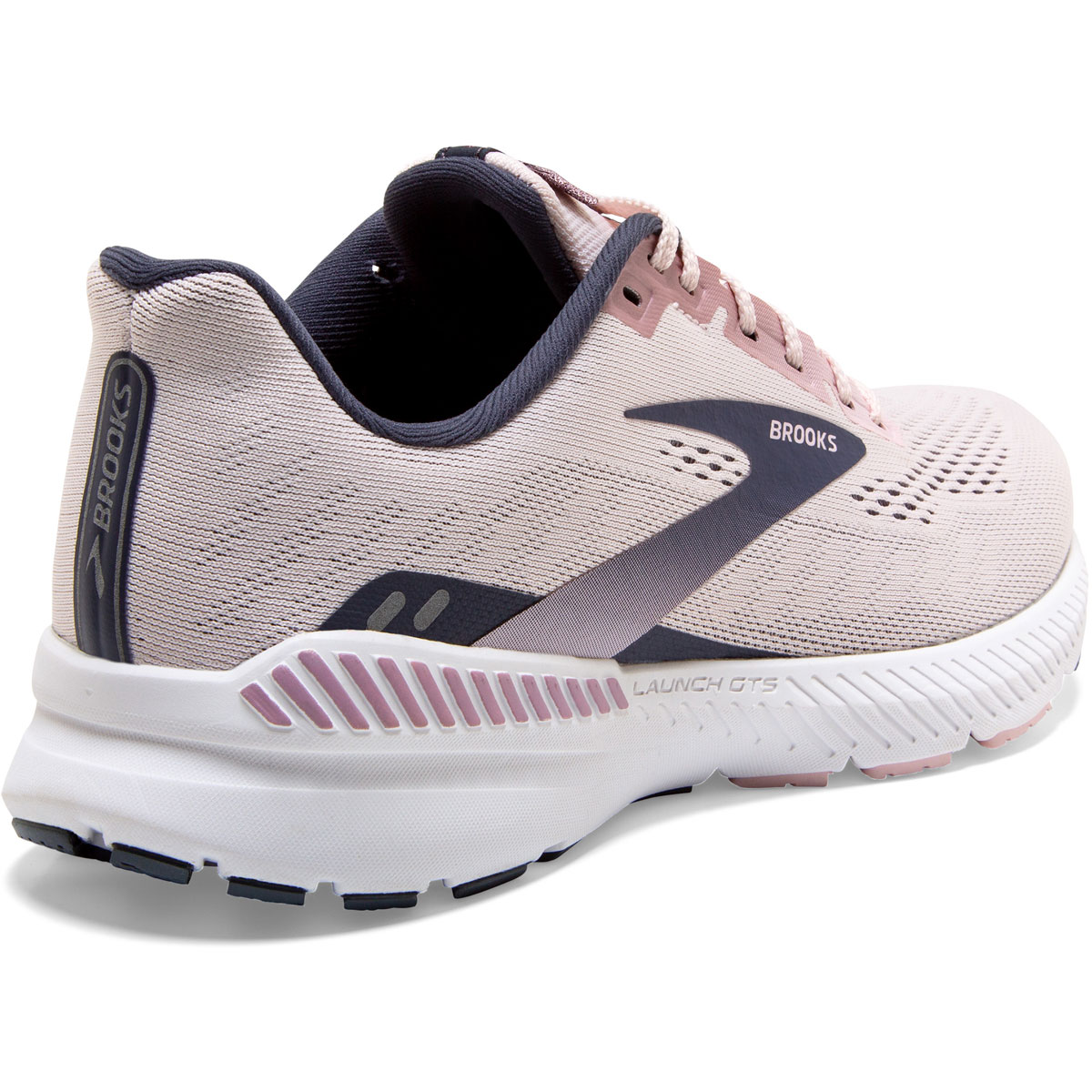 Women's Brooks Launch GTS 8 Running Shoe - Color: Primrose/Ombre - Size: 5 - Width: Regular, Primrose/Ombre, large, image 5