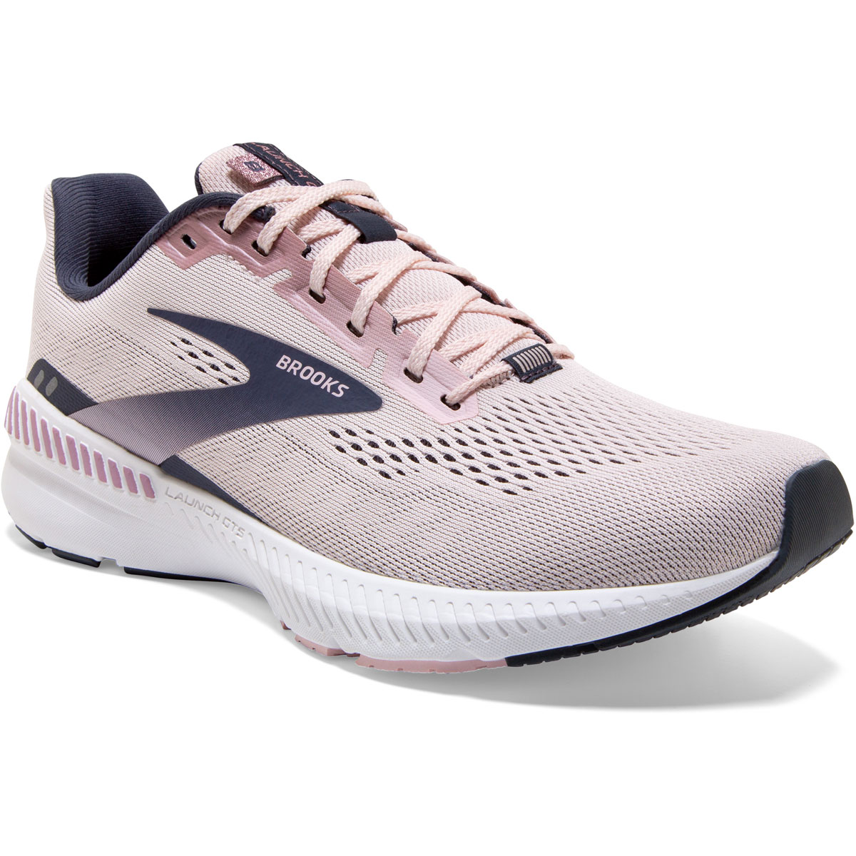Women's Brooks Launch GTS 8 Running Shoe - Color: Primrose/Ombre - Size: 5 - Width: Regular, Primrose/Ombre, large, image 6