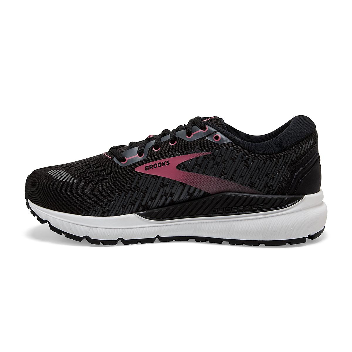 Women's Brooks Addiction GTS 15 Running Shoe - Color: Black/Ebony/Mauvewood - Size: 5 - Width: Regular, Black/Ebony/Mauvewood, large, image 2