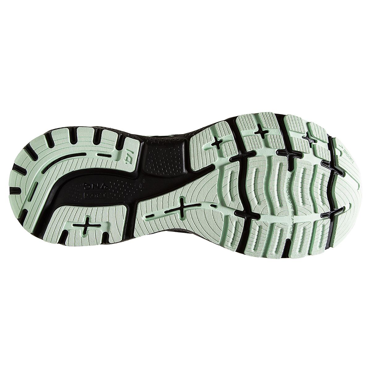 Women's Brooks Ghost 14 Gore-Tex Running Shoe - Color: Black/Blackened Pearl/Aquaglass - Size: 5 - Width: Regular, Black/Blackened Pearl/Aquaglass, large, image 4