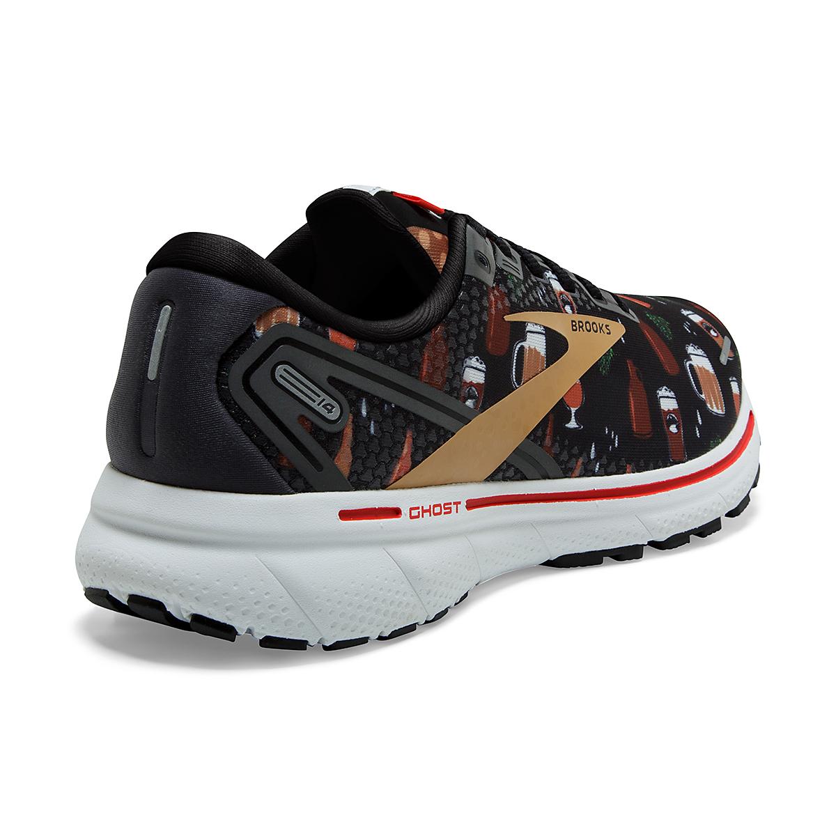 Women's Brooks Ghost 14 Running Shoe - Color: Run Hoppy - Size: 5 - Width: Regular, Run Hoppy, large, image 3