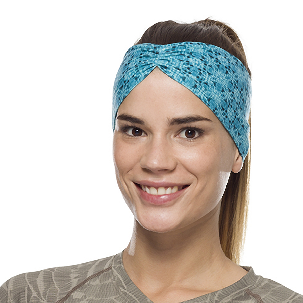 Buff Coolnet UV+ Tapered Headband - Color: Balmor Pool, Balmor Pool, large, image 3