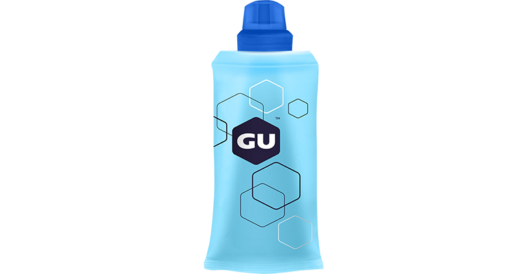 GU Energy Reusable Flask - 5.5 Oz. - Color: Blue - Size: One Size, Blue, large, image 1