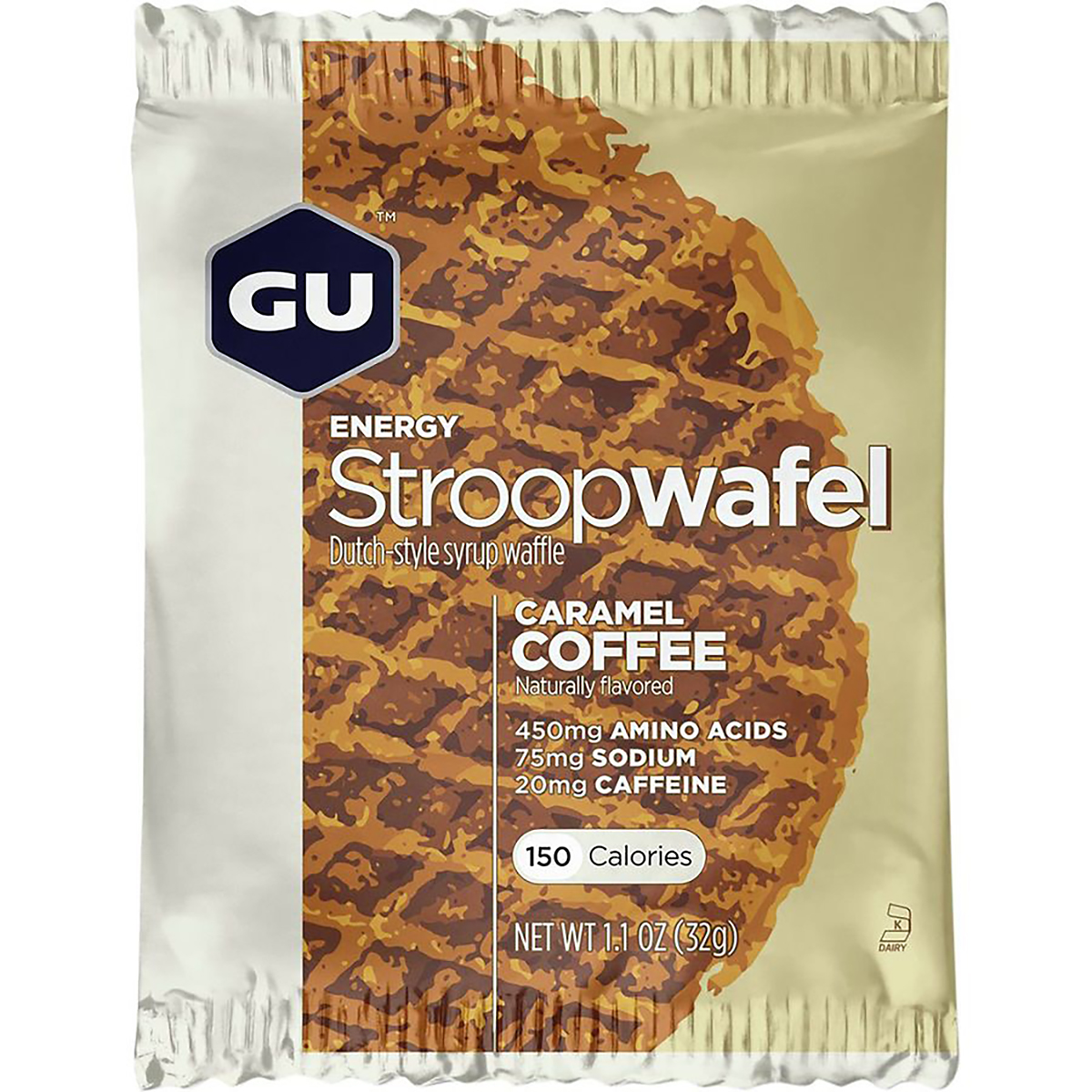 Gu Energy Stroopwafel - Color: Caramel Coffee - Size: Box of 16, Caramel Coffee, large, image 1