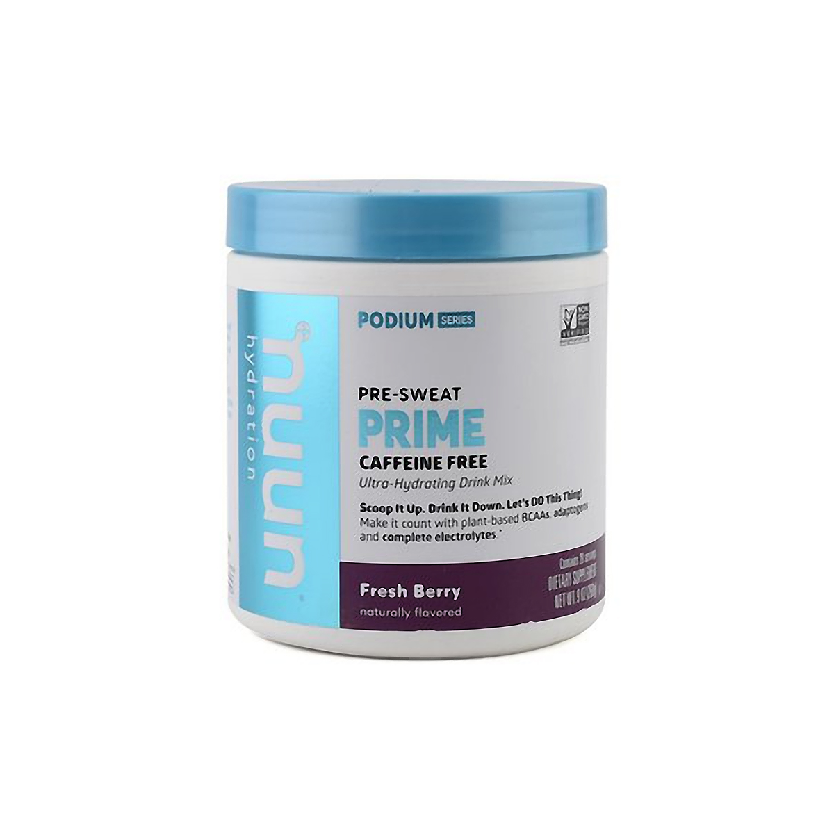 Nuun Prime Series Drink Mix - Flavor: Fresh Berry - Size: Canister, Fresh Berry, large, image 1