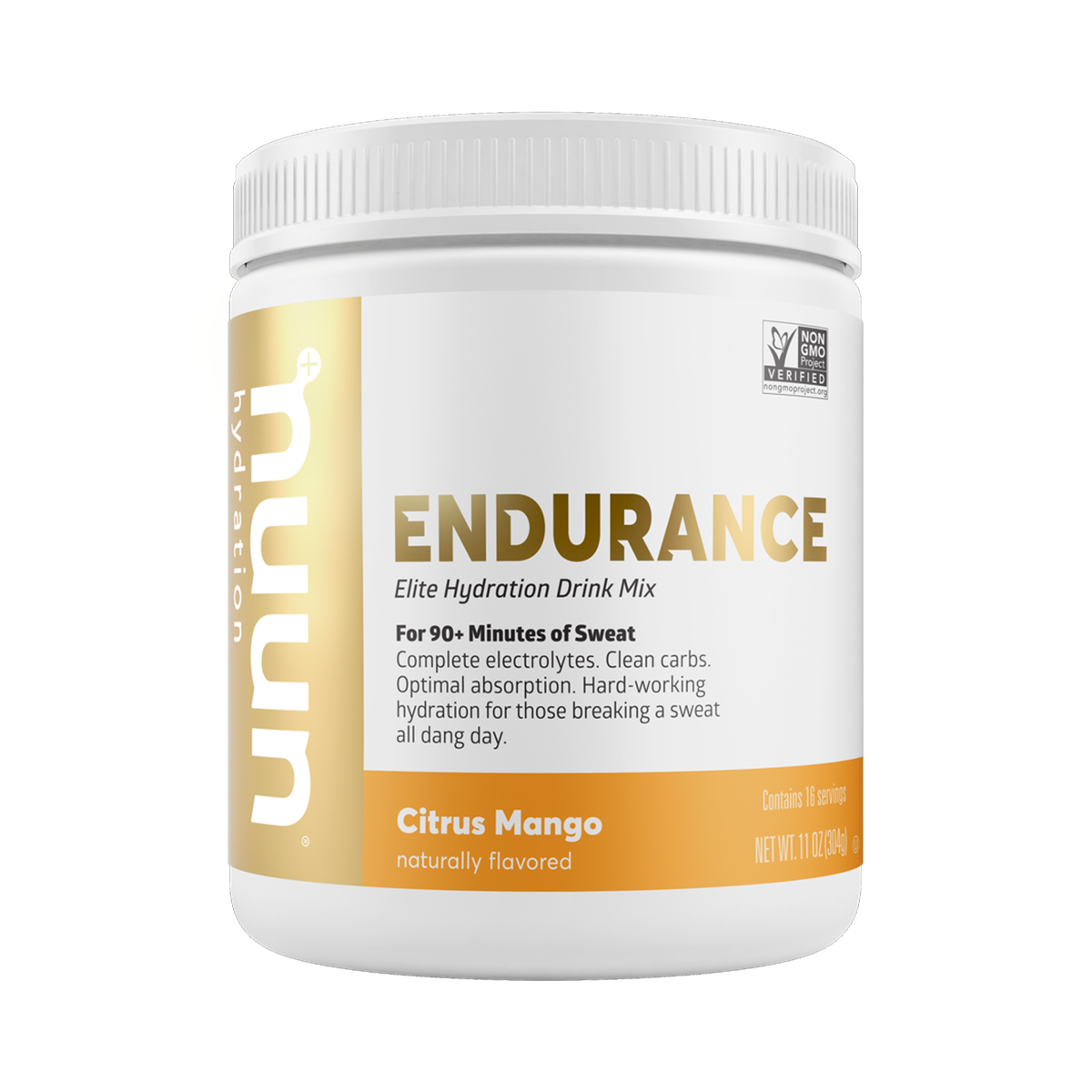 Nuun Endurance Drink Mix - Flavor: Citrus Mango - Size: Box of 12, Citrus Mango, large, image 1