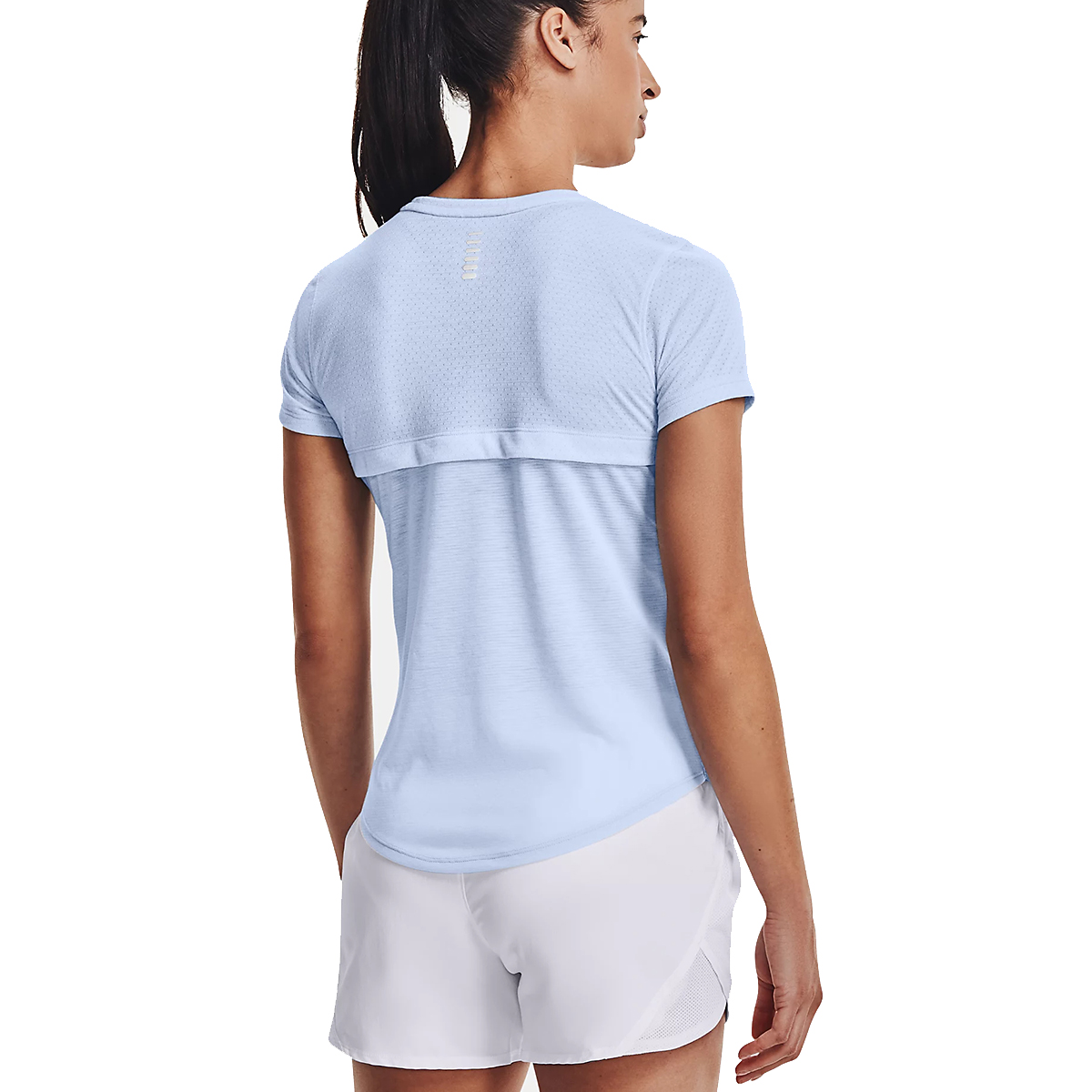 Women's Under Armour Streaker Short Sleeve - Color: Isotope Blue - Size: S, Isotope Blue, large, image 2