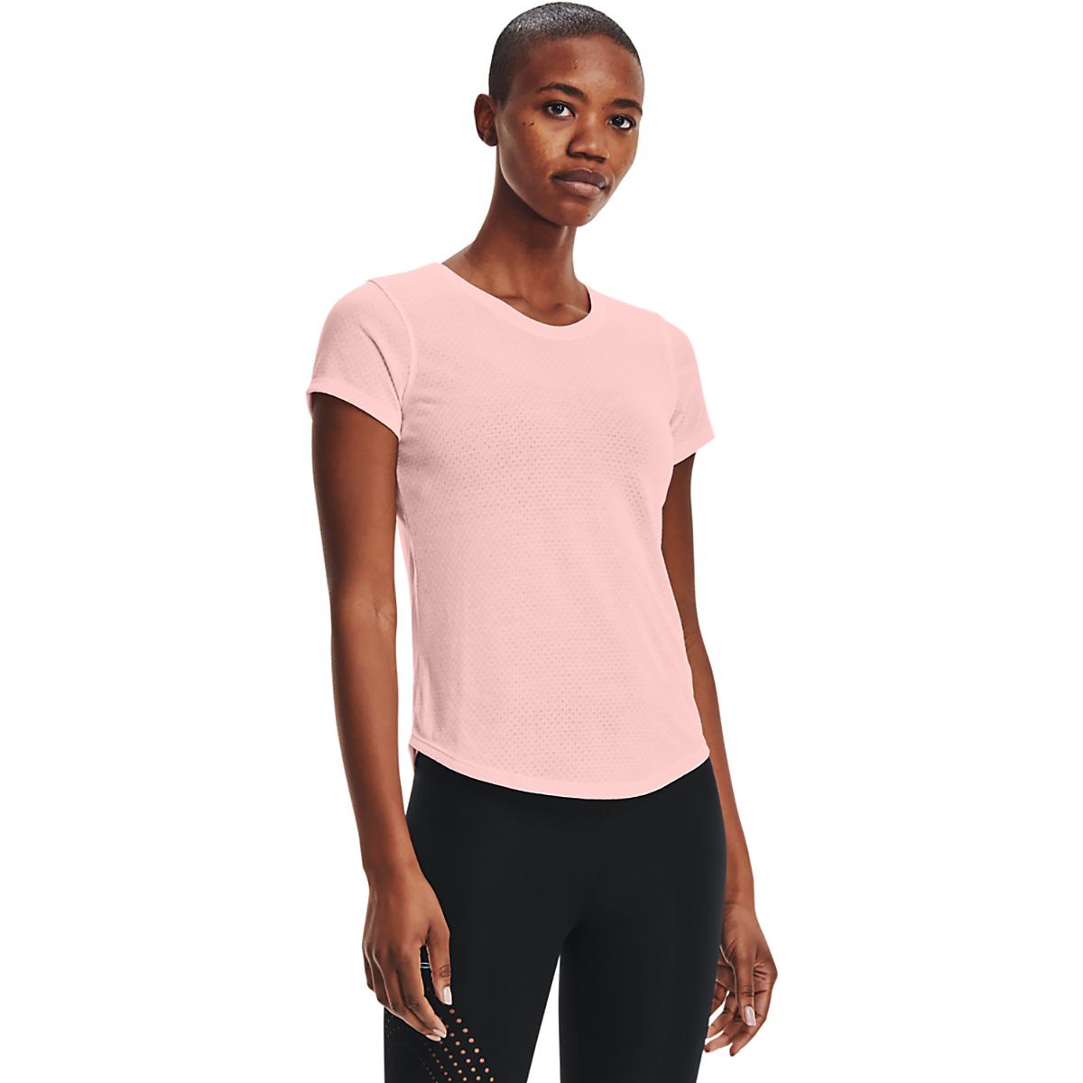 Women's Under Armour Streaker Run Short Sleeve - Color: Beta Tint/ Beta - Size: XS, Beta Tint/ Beta, large, image 1
