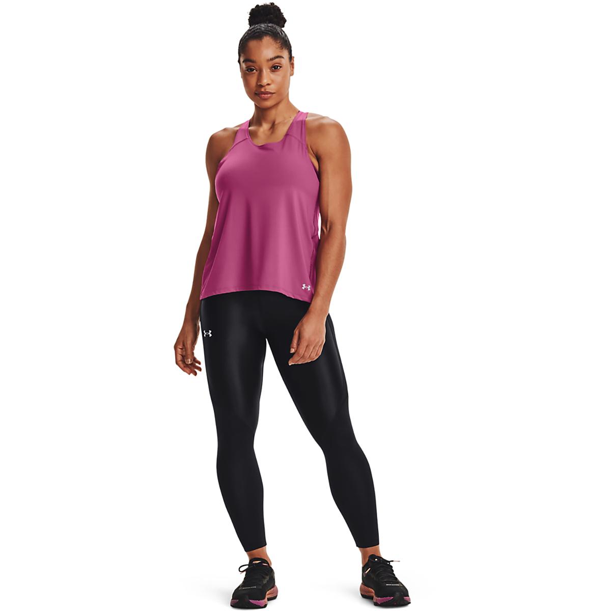 Women's Under Armour Iso-Chill Run 200 Tank - Color: Pink Quartz - Size: XS, Pink Quartz, large, image 1