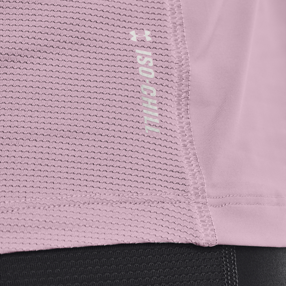 Women's Under Armour Iso-Chill Run 200 Tank - Color: Mauve Pink/Mauve Pink/Reflective - Size: XS, Mauve Pink/Mauve Pink/Reflective, large, image 4