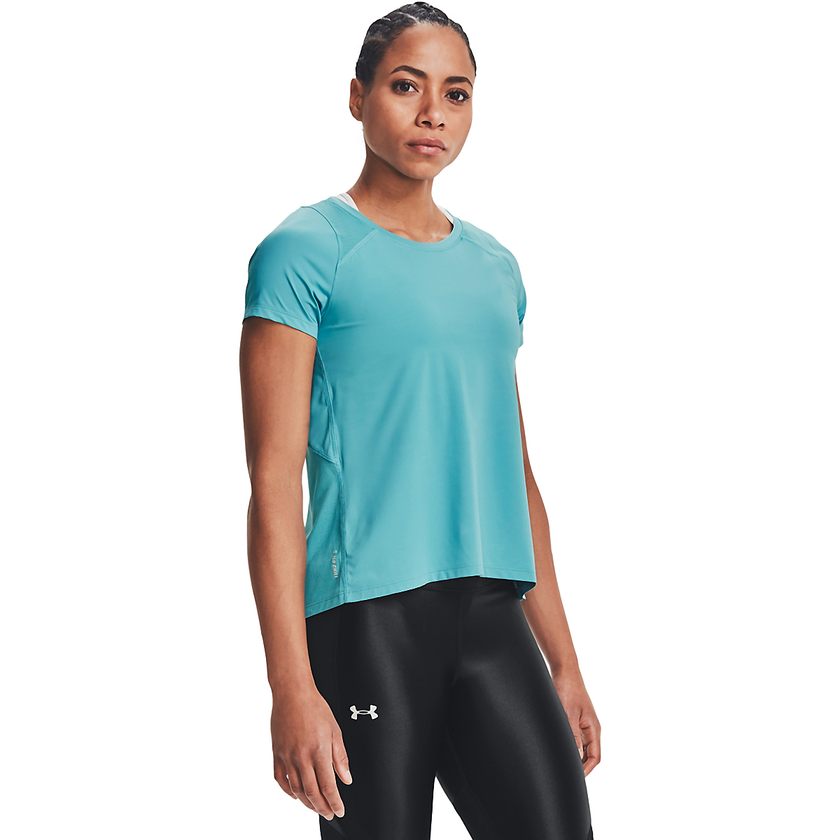 Women's Under Armour Iso-Chill Run Short Sleeve Tee, , large, image 1