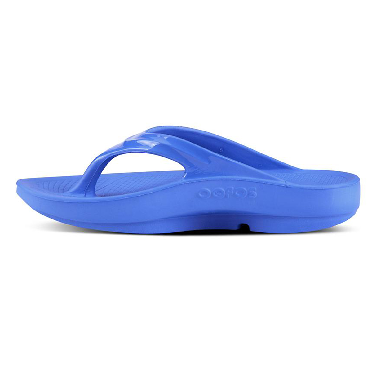 Women's Oofos OOlala Thong Recovery Sandal - Color: Jewel - Size: 6 - Width: Regular, Jewel, large, image 2
