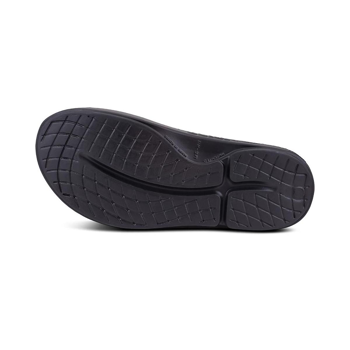 Oofos OOahh Sport Slide Recovery Sandal - Color: Black/Matte - Size: M3/W4.5 - Width: Regular, Black/Matte, large, image 3