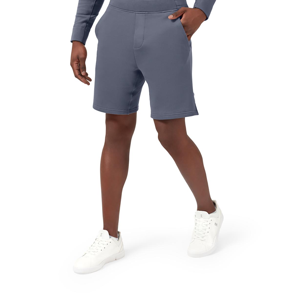 Men's On Sweat Shorts - Color: Dark - Size: S, Dark, large, image 1