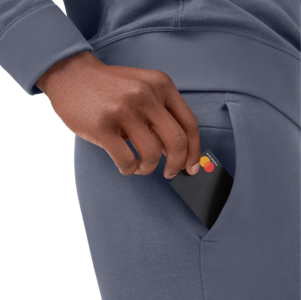 Men's On Sweat Shorts - Color: Dark - Size: S, Dark, large, image 3