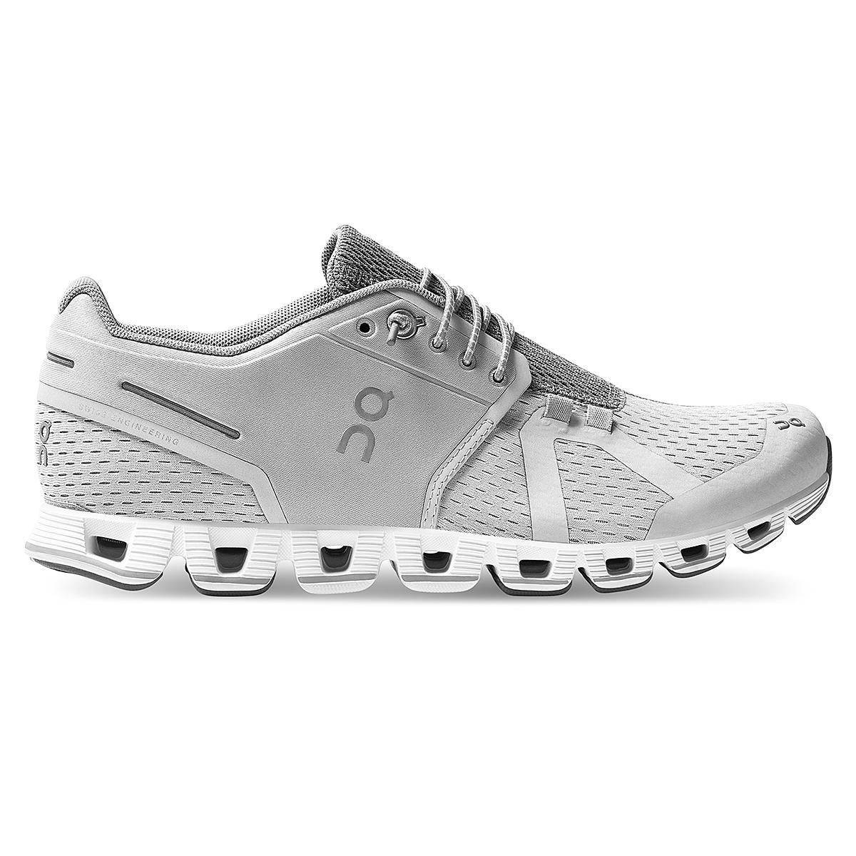 Women's On Cloud Running Shoe - Color: Glacier/White - Size: 5 - Width: Regular, Glacier/White, large, image 1