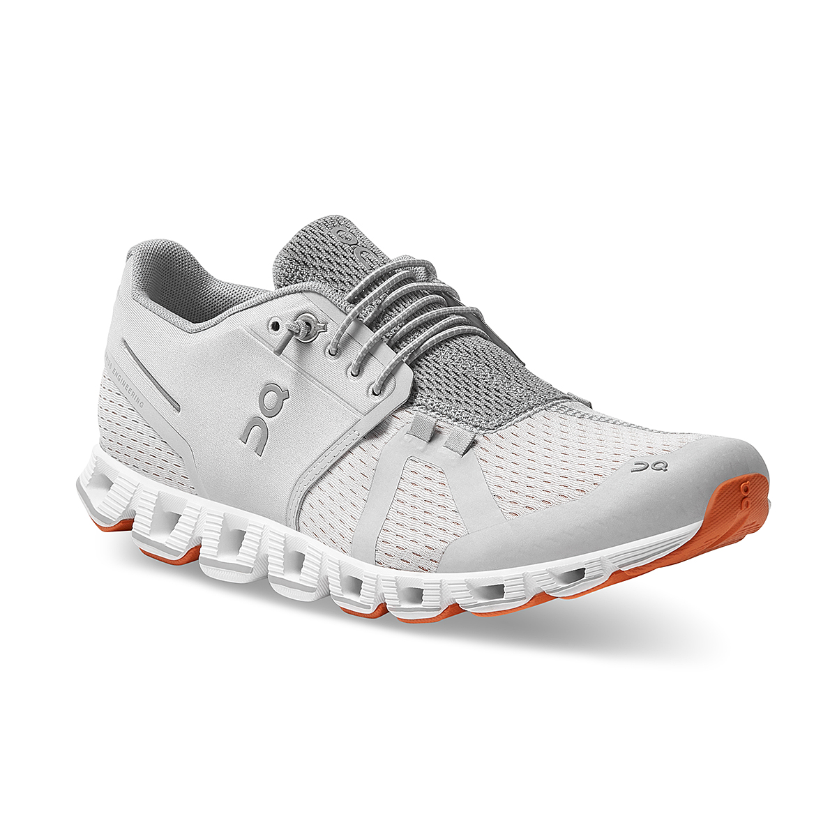 Women's On Cloud Running Shoe - Color: Glacier/White - Size: 5 - Width: Regular, Glacier/White, large, image 2
