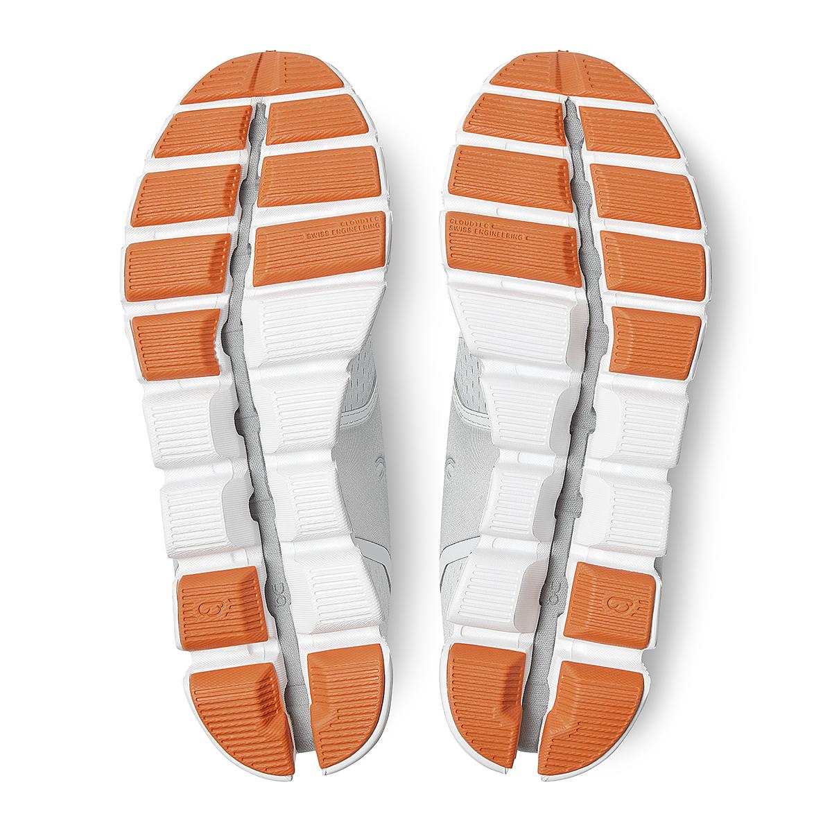 Women's On Cloud Running Shoe - Color: Glacier/White - Size: 5 - Width: Regular, Glacier/White, large, image 6