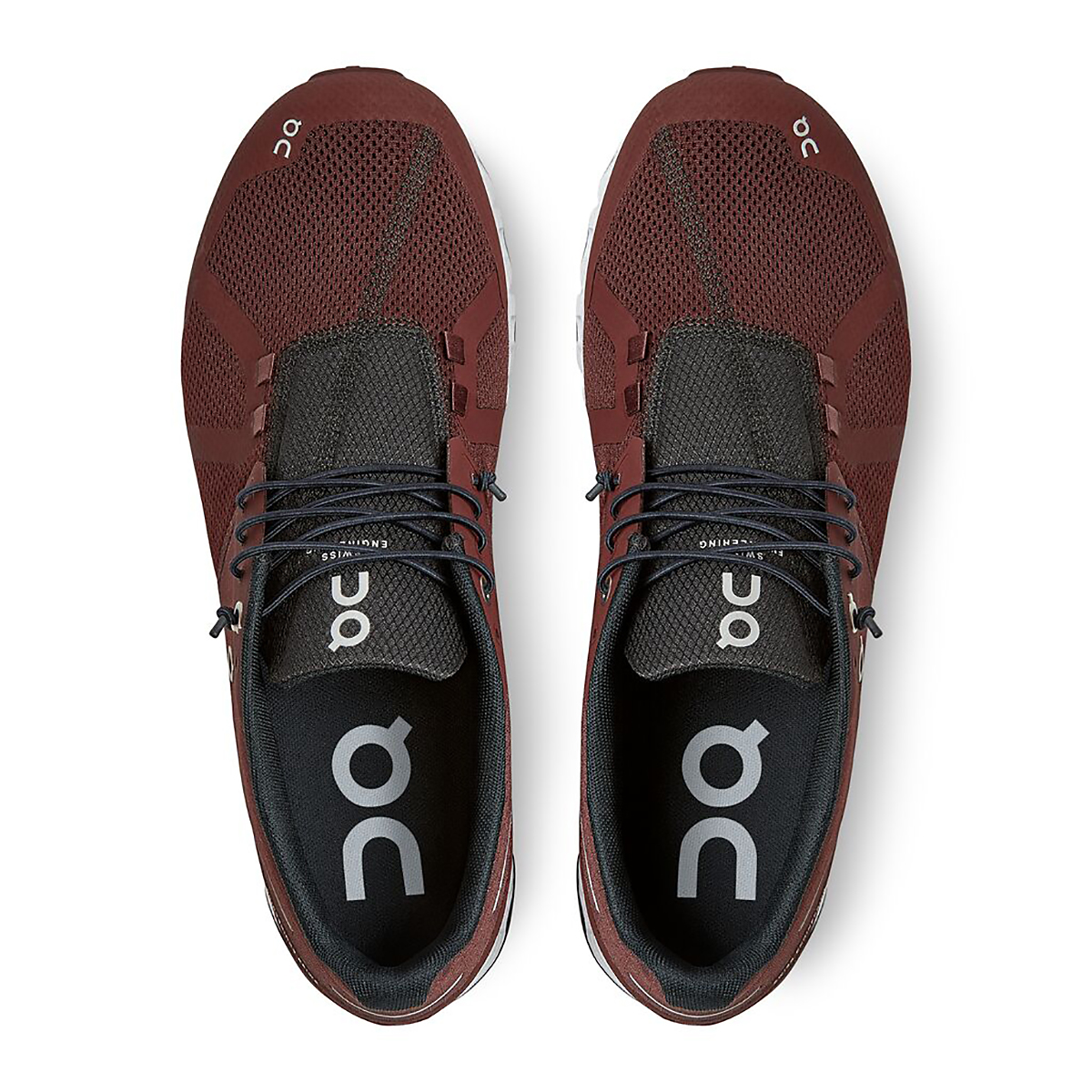 Men's On Cloud Lifestyle Shoe - Color: Ox/White - Size: 7 - Width: Regular, Ox/White, large, image 3