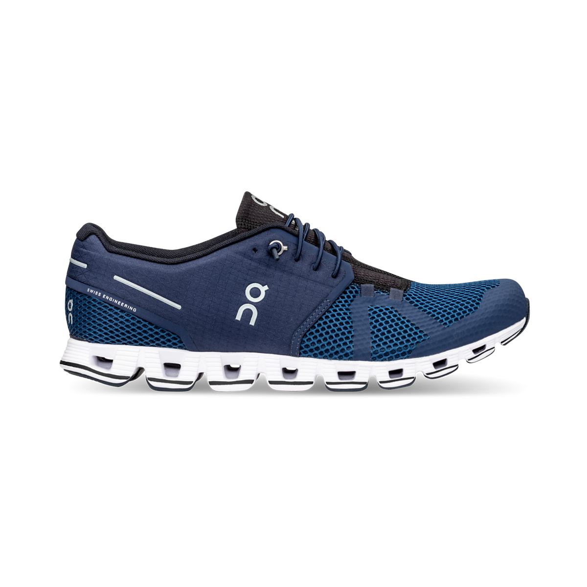 Men's On Cloud Running Shoe - Color: Midnight/Ocean - Size: 10 - Width: Regular, Midnight/Ocean, large, image 1