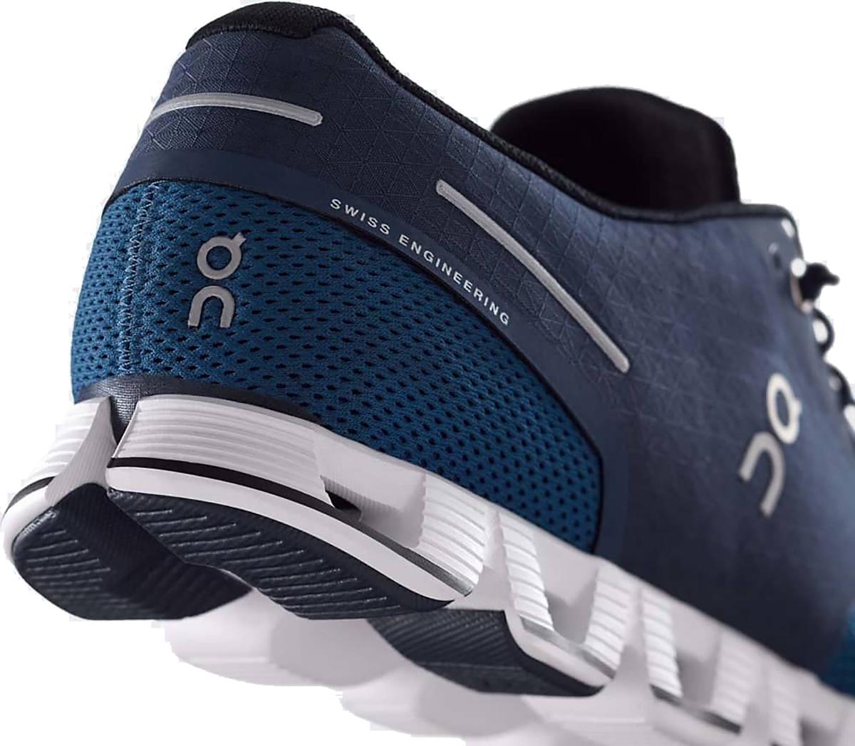 Men's On Cloud Running Shoe - Color: Midnight/Ocean - Size: 10 - Width: Regular, Midnight/Ocean, large, image 3