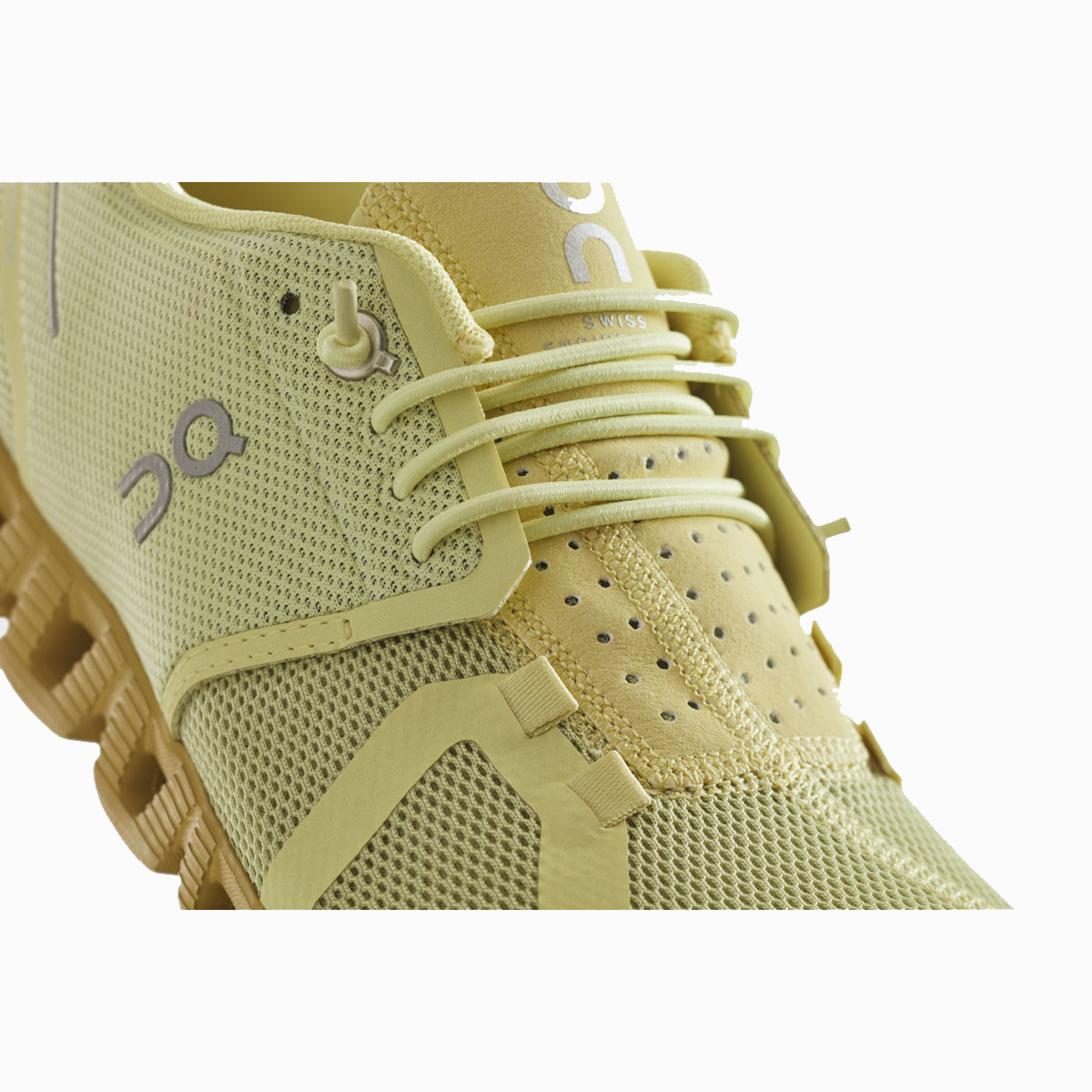 Women's On Cloud Monochrome Running Shoe - Color: Endive - Size: 5 - Width: Regular, Endive, large, image 3