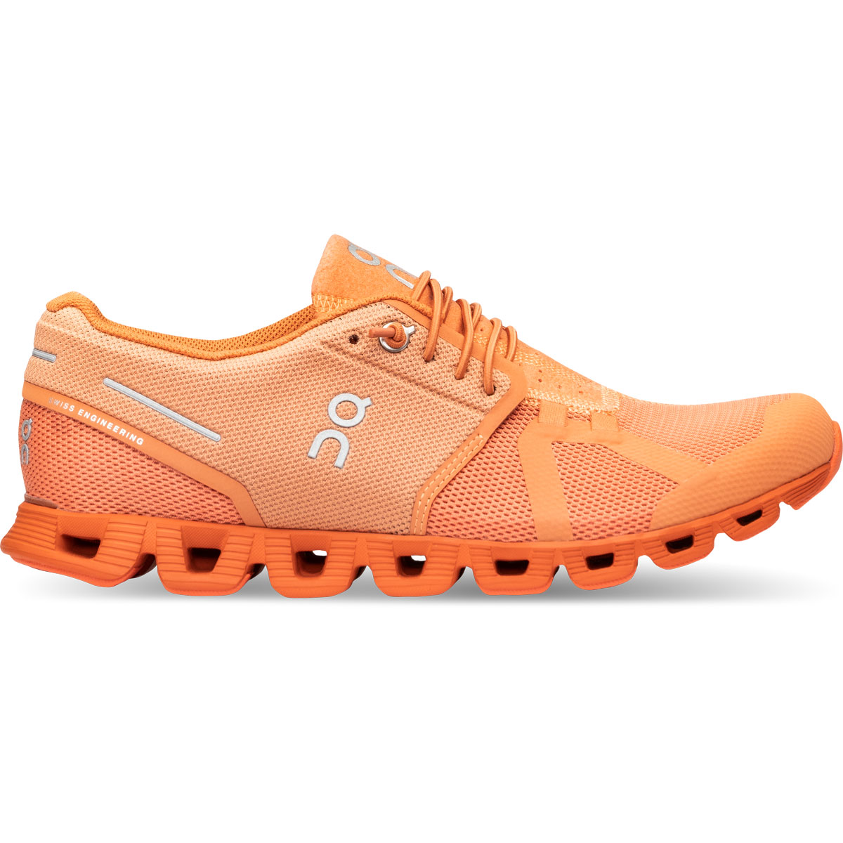 Women's On Cloud Monochrome Running Shoe - Color: Flare - Size: 5 - Width: Regular, Flare, large, image 1