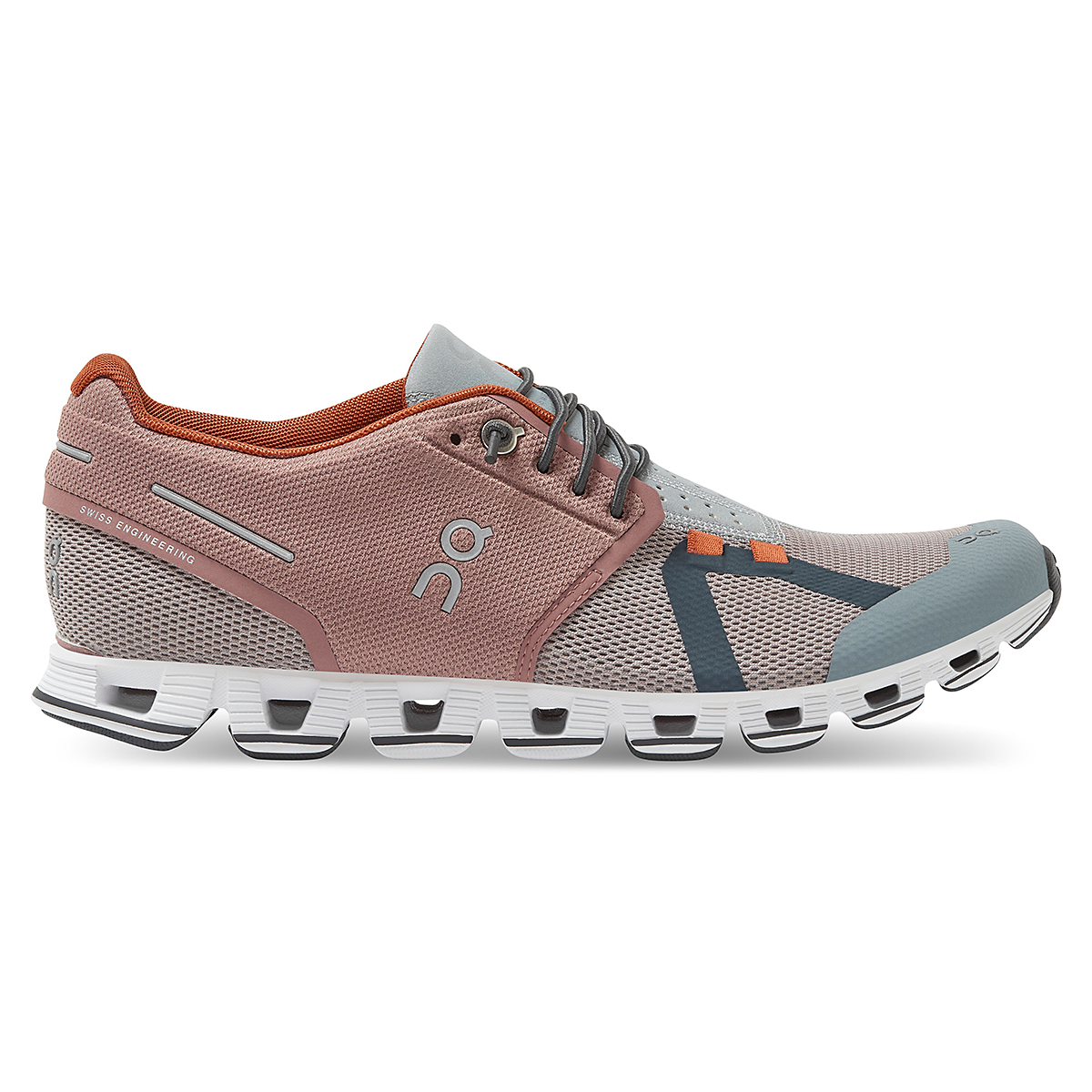 Women's On Cloud 70/30 Lifestyle Shoe - Color: Reed/Damson - Size: 5 - Width: Regular, Reed/Damson, large, image 1