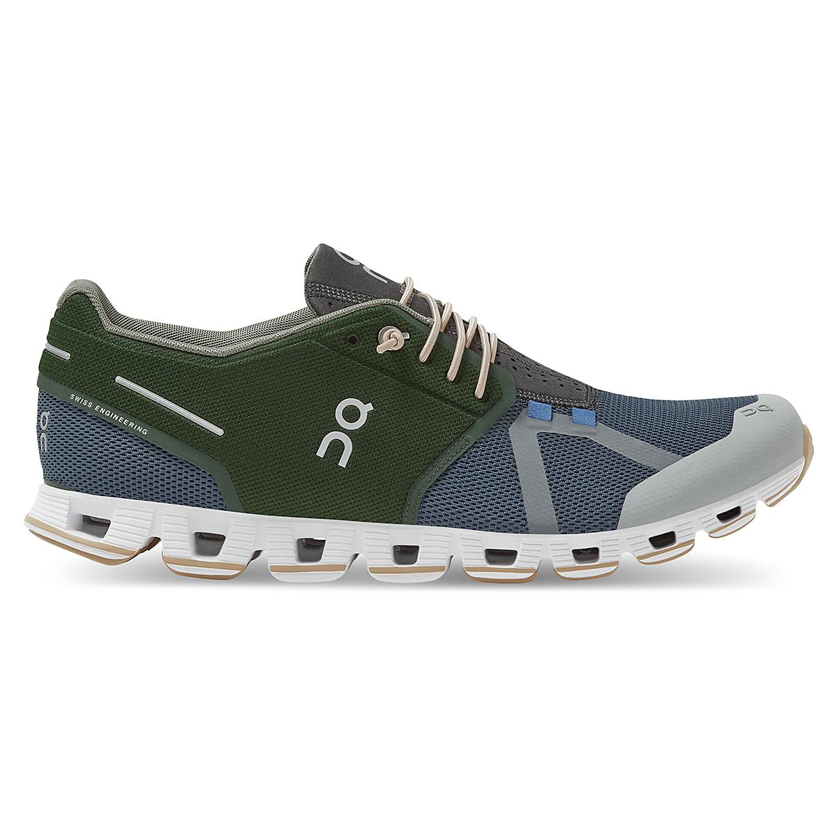 Men's On Cloud 70/30 Lifestyle Shoe - Color: Cactus/Storm - Size: 7 - Width: Regular, Cactus/Storm, large, image 1