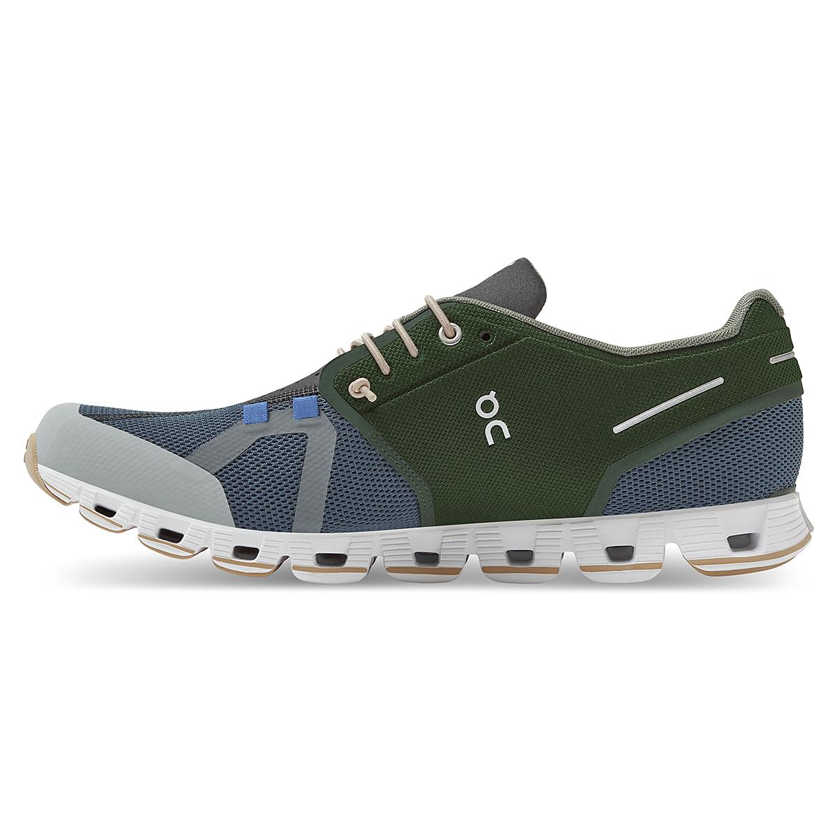 Men's On Cloud 70/30 Lifestyle Shoe - Color: Cactus/Storm - Size: 7 - Width: Regular, Cactus/Storm, large, image 2