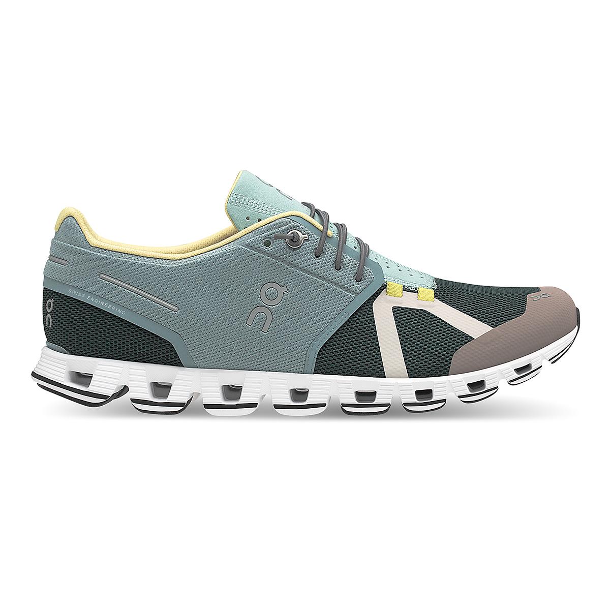 Men's On Cloud 70/30 Lifestyle Shoe - Color: Cobble/Jungle - Size: 7 - Width: Regular, Cobble/Jungle, large, image 1