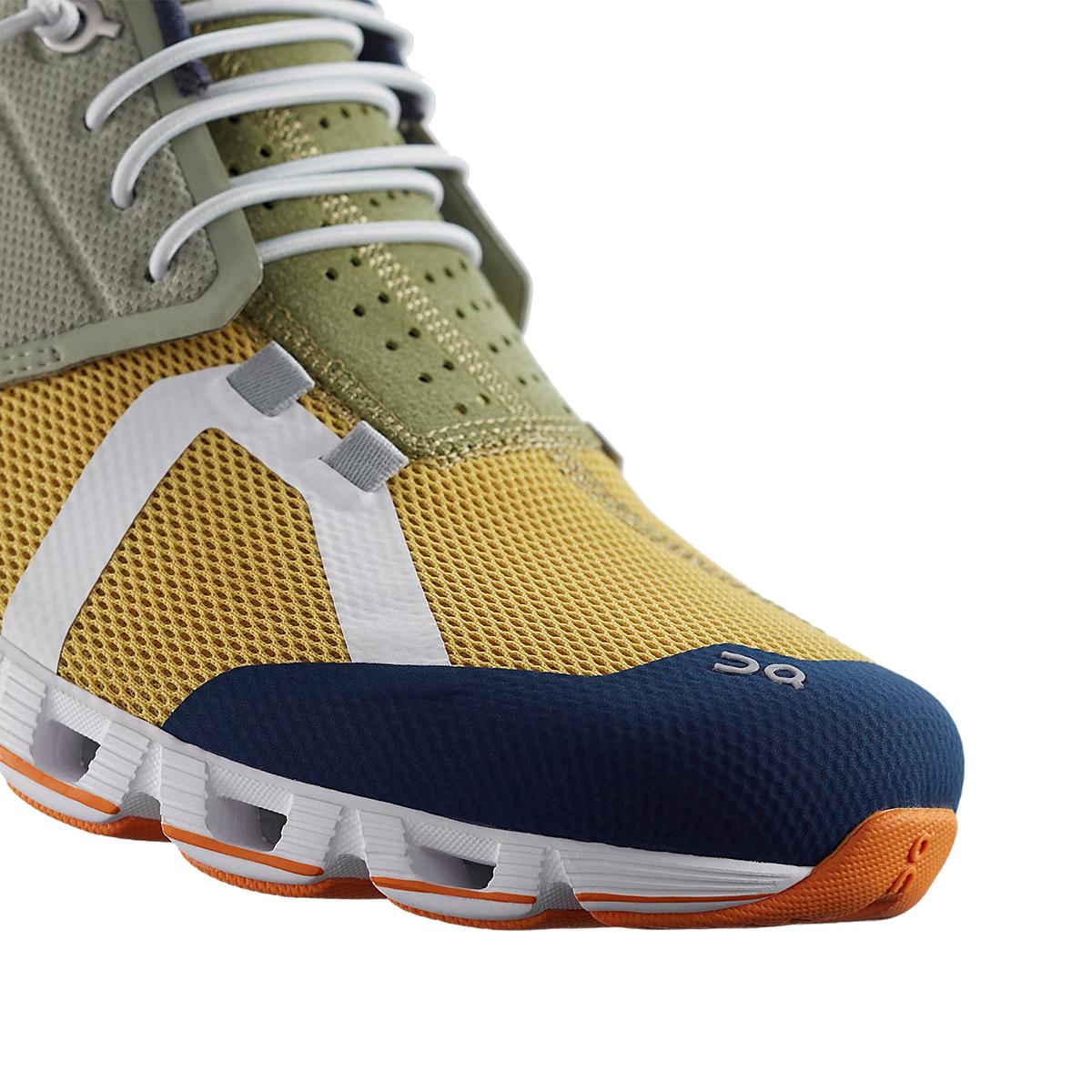 Men's On Cloud 70/30 Lifestyle Shoe - Color: Leaf/Mustard - Size: 7 - Width: Regular, Leaf/Mustard, large, image 3