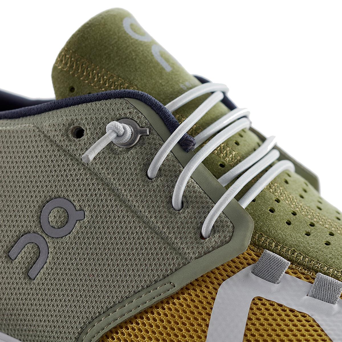 Men's On Cloud 70/30 Lifestyle Shoe - Color: Leaf/Mustard - Size: 7 - Width: Regular, Leaf/Mustard, large, image 4